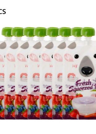Многоразовый пакет для детского питания KEYBOX (200 мл) цена за 8
