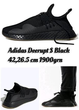 Adidas Deerupt S Black USA