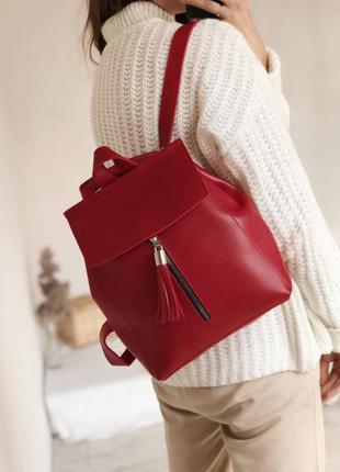 Красный рюкзак трансформер,рюкзак сумка