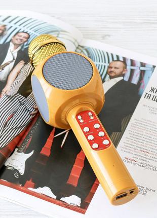 📣Bluetooth караоке микрофон колонка WS-1816📣