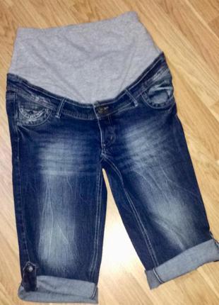Шорты джинсовыедля беременных одежда для беременных