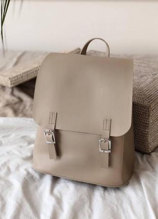 Бежевый рюкзак трансформер,сумка-трансформер