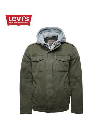 Мужская куртка от levi's с мехом внутри оригинал