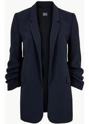 Пиджак жакет блейзер с интересными рукавами р. 18-20