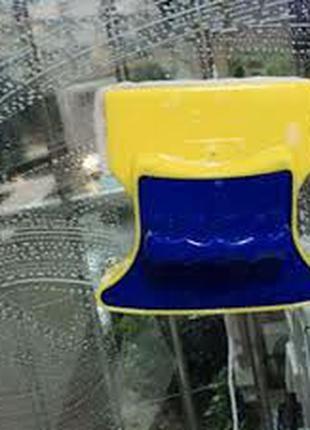 Магнитная щетка для окон/ХИТ ПРОДАЖ/купить в Украине