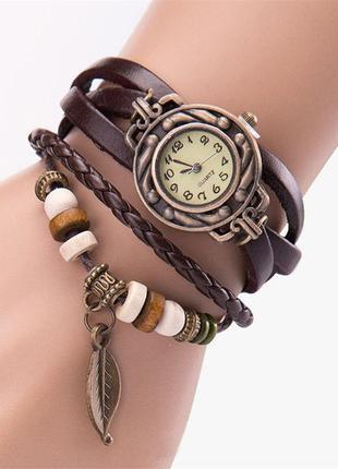 Женские старинные часы-браслет