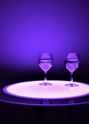 Барный/журнальный LED стол