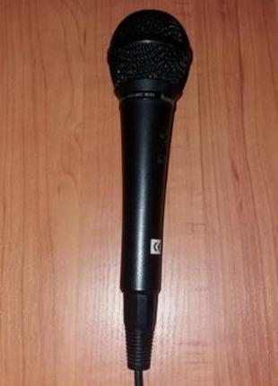Микрофон динамический HAMA 46036 (600 Ом, 80дБ)