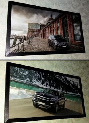 Картины Mercedes V-Class и GL подарок мужчине на День Рождения