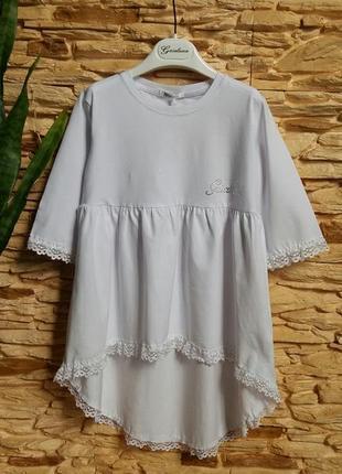 Туника/блуза gaialuna (италия) на 8-9 лет (размер 134)