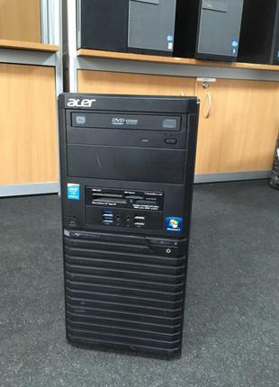 Системний блок Tower ACER Veriton M2632G/ I3-4170 / 4GB RAM / NO