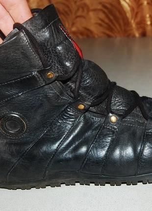 Деми ботинки ecco 40 размер