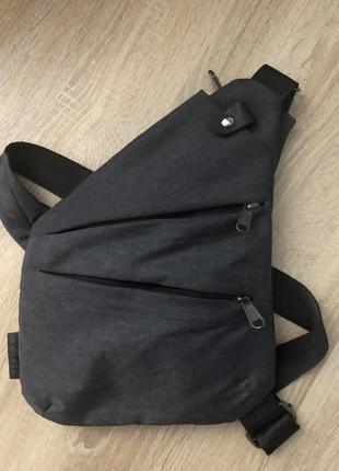 Барсетка мужская дорожная деловая сумка