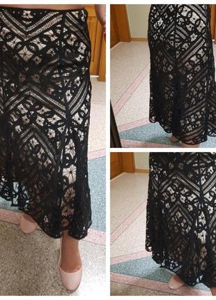 Кружевная юбка (миди) coast