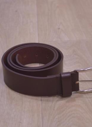Мужской кожаный пояс коричневый германия