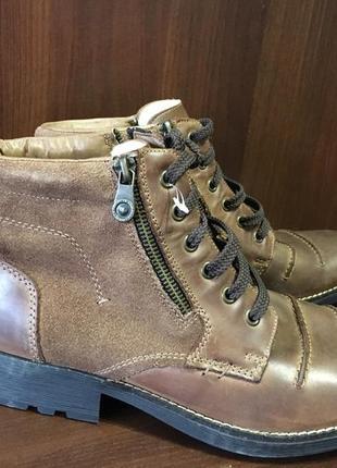 Зимові чоловічі ботинки rieker! німеччина! оригінал!