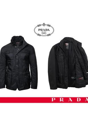 Мужская классическая куртка prada оригинал