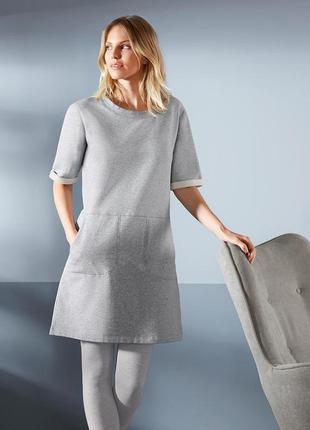 Фирменное домашнее утеплённое платье от tcm tchibo.германия. о...