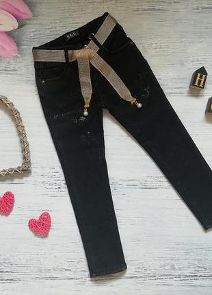 Утепленные джинсы для девочки венгрия