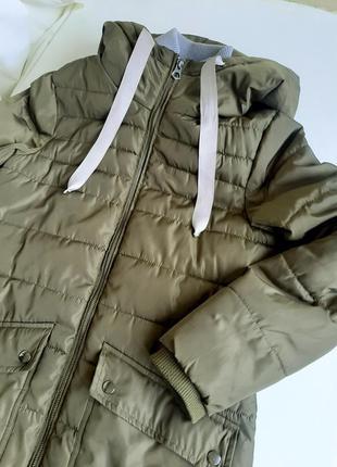 Куртка зимняя  демисезон до -10 аляска пальто