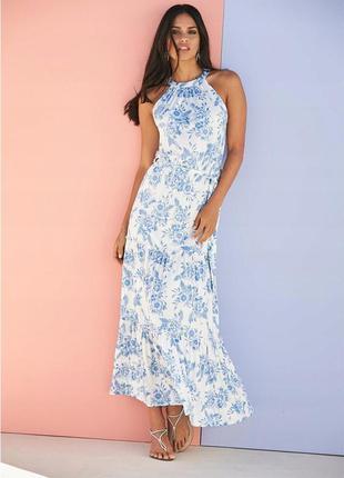 Изумительное воздушное платье-сарафан: р.46/52 л/2хл - фото, з...