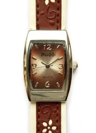 Mudd md1607 часы из сша с цветочками мех. japan miyota