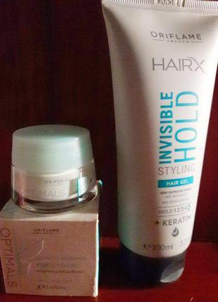 Набор: крем для век + гель для волос