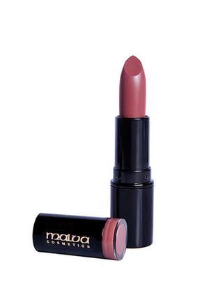 Акция! помада для губ malva cosmetics care & shine lipstick, т...