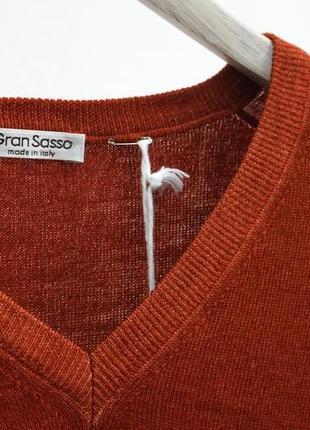Распродажа! шерстяной пуловер gran sasso