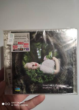 Cd Scarlet Johansson дебютный альбом запечатанный  пишите на В...