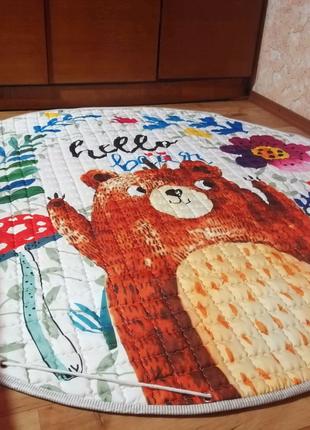 Детский коврик (коврик-мешок)
