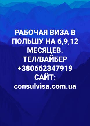 СРОЧНЫЕ документы на ПОЛЬСКУЮ ВИЗУ !!!