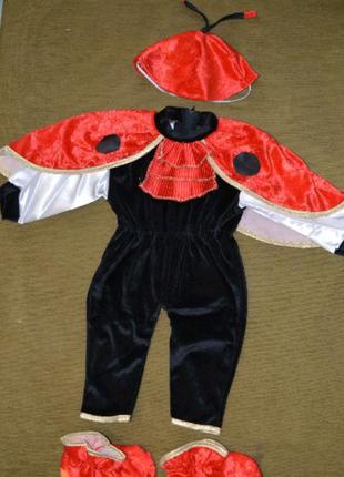 Новый костюм божья коровка