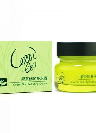 Крем для лица с зеленым чаем laikou green tea hydrating cream,...