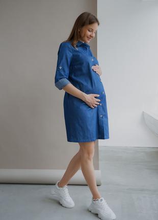 Сукня для вагітних і годуючих мам
