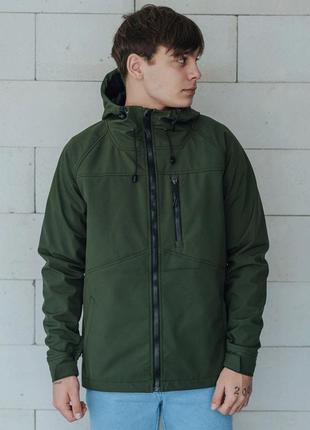 Куртка soft shell staff lak khaki