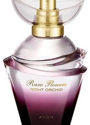 Парфюмерная вода Rare Flowers night orchid avon