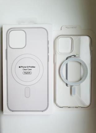 Чехол Clear Magsafe Для IPhone 12/12 Pro, 12 Pro Max, 12 Mini