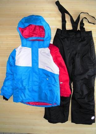 Лыжный костюм, комбинезон crivit на рост 134-140