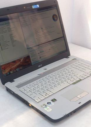 """Ноутбук Acer 7520(5315)17""""(1440x900) Intel T7250 2х2.0GHz,RAM 3Gb"""