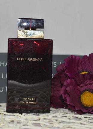 Парфюмированная вода dolce&gabbana pour femme intense оригинал...