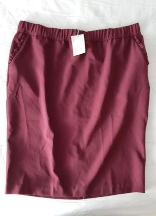 Новая юбка размер 56-58.