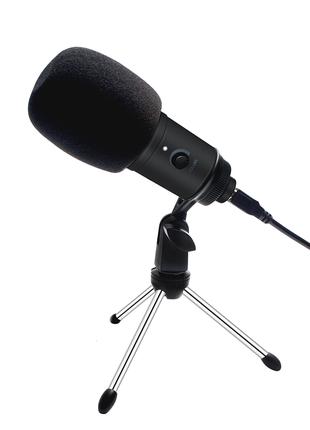 Конденсаторный микрофон USB (стримы, игры, влоги)