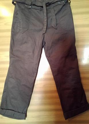 Новые легкие хлопковые брюки-карго bhs.