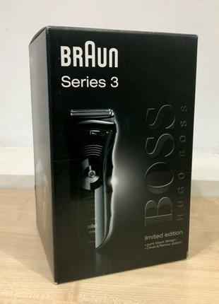 Новая электробритва Braun Series 3, 390cc-4 BOSS Black