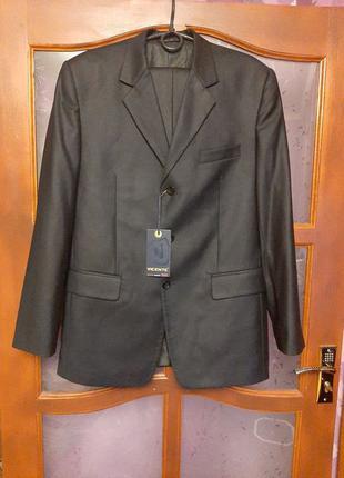 Мужской костюм деловой брюки и пиджак НОВЫЙ
