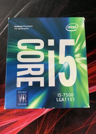 Процесор intel core i5 7500 LGA1151