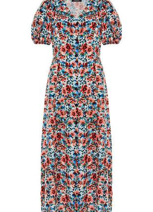 Длинное платье на пуговицах Primark
