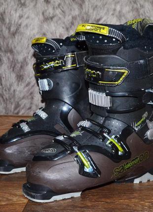 Горнолыжные фирменные ботинки salomon energyzer 70 (27мм)