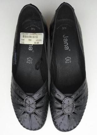 Туфли кожаные jana, размер 36